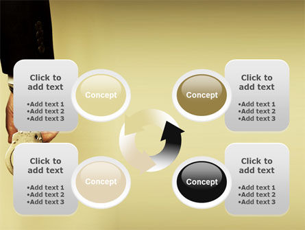 Handcuffs PowerPoint Template Slide 9