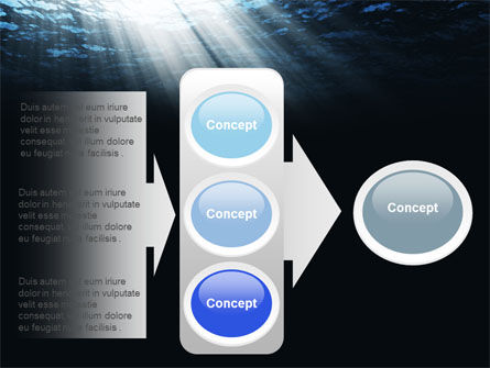 Deep Waters PowerPoint Template Slide 11