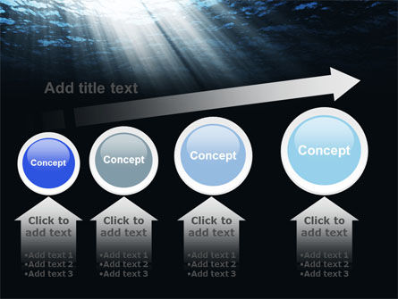 Deep Waters PowerPoint Template Slide 13