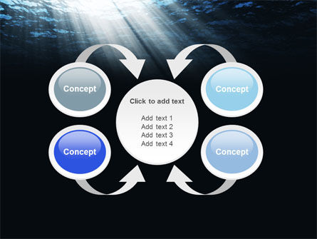 Deep Waters PowerPoint Template Slide 6