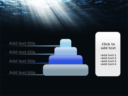 Deep Waters PowerPoint Template Slide 8