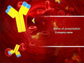 Medical: Antibodies PowerPoint Template #04490