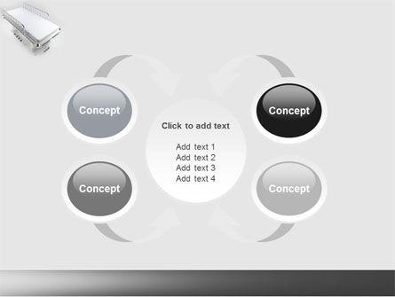 Wheel Stretcher PowerPoint Template Slide 6