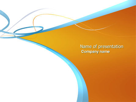 Abstract Stripes PowerPoint Template