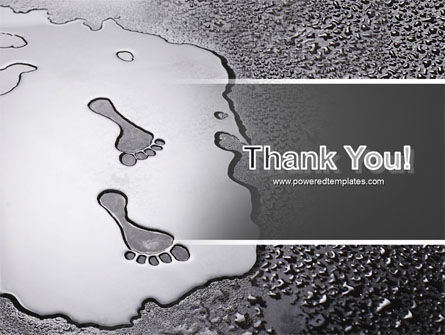 Foot Prints PowerPoint Template Slide 20