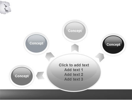 Foot Prints PowerPoint Template Slide 7