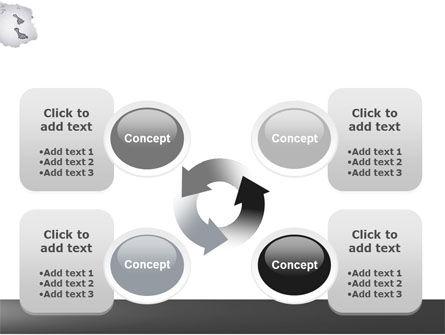 Foot Prints PowerPoint Template Slide 9