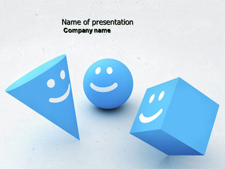 Smiles PowerPoint Template, 04495, Education & Training — PoweredTemplate.com
