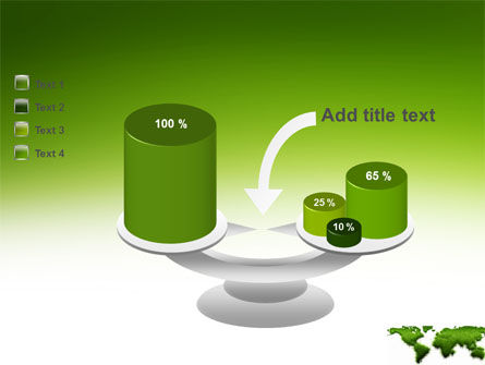 Green Grass of World PowerPoint Template Slide 10