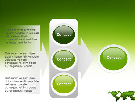 Green Grass of World PowerPoint Template Slide 11