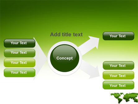 Green Grass of World PowerPoint Template Slide 14