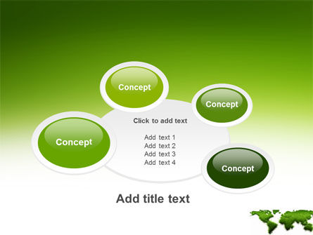 Green Grass of World PowerPoint Template Slide 16