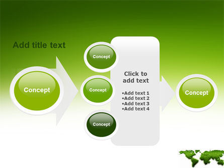 Green Grass of World PowerPoint Template Slide 17
