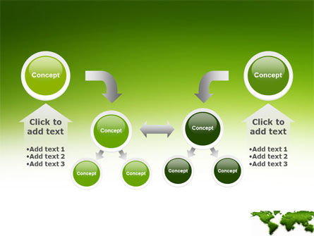 Green Grass of World PowerPoint Template Slide 19