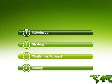 Green Grass of World PowerPoint Template Slide 3
