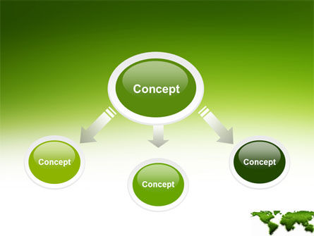 Green Grass of World PowerPoint Template Slide 4