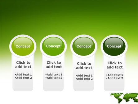 Green Grass of World PowerPoint Template Slide 5