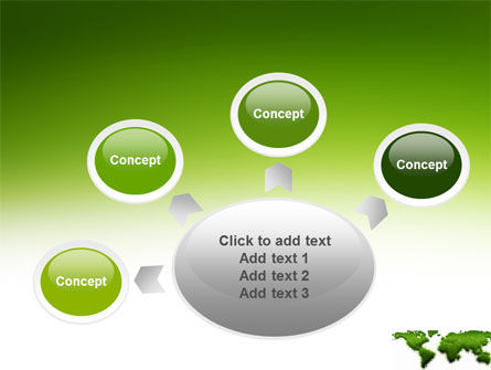 Green Grass of World PowerPoint Template Slide 7