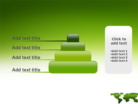 Green Grass of World PowerPoint Template Slide 8