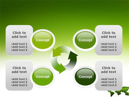 Green Grass of World PowerPoint Template Slide 9