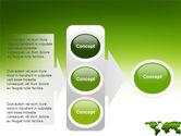 Green Grass of World PowerPoint Template#11