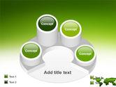 Green Grass of World PowerPoint Template#12