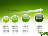 Green Grass of World PowerPoint Template#13