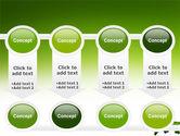 Green Grass of World PowerPoint Template#18
