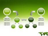 Green Grass of World PowerPoint Template#19