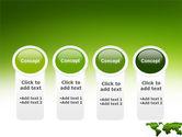 Green Grass of World PowerPoint Template#5