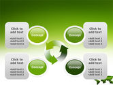 Green Grass of World PowerPoint Template#9
