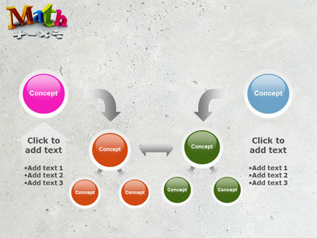 Math Addition PowerPoint Template Slide 19