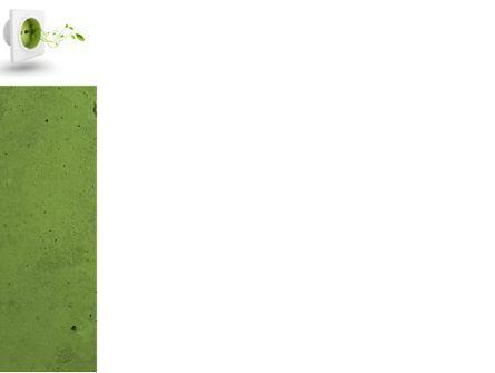 Green Socket PowerPoint Template, Slide 3, 04502, Careers/Industry — PoweredTemplate.com