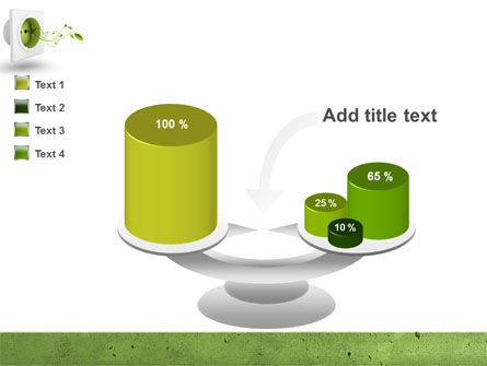 Green Socket PowerPoint Template Slide 10