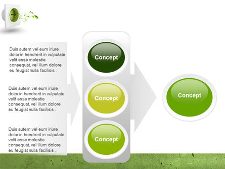 Green Socket PowerPoint Template Slide 11