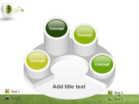 Green Socket PowerPoint Template Slide 12
