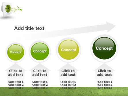 Green Socket PowerPoint Template Slide 13