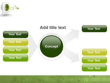 Green Socket PowerPoint Template Slide 14