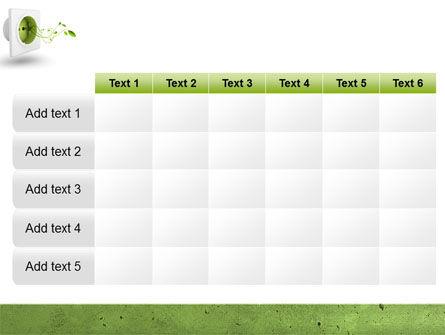 Green Socket PowerPoint Template Slide 15