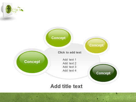 Green Socket PowerPoint Template Slide 16