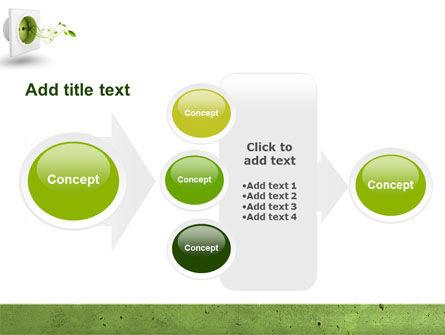 Green Socket PowerPoint Template Slide 17