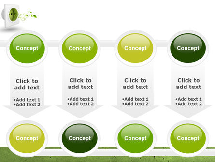 Green Socket PowerPoint Template Slide 18
