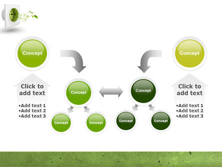 Green Socket PowerPoint Template Slide 19