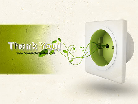 Green Socket PowerPoint Template Slide 20