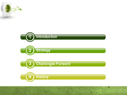 Green Socket PowerPoint Template Slide 3