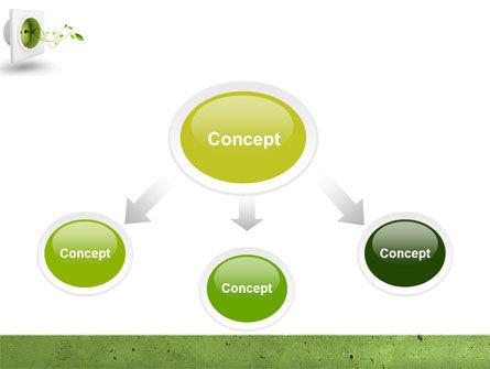 Green Socket PowerPoint Template, Slide 4, 04502, Careers/Industry — PoweredTemplate.com