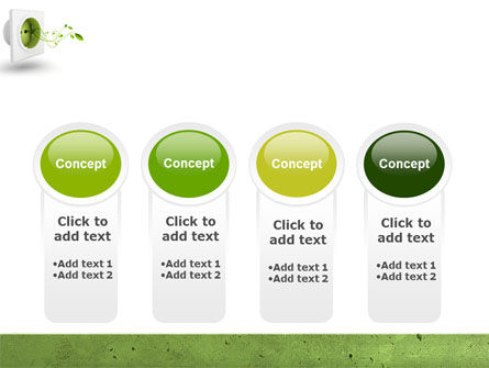 Green Socket PowerPoint Template Slide 5