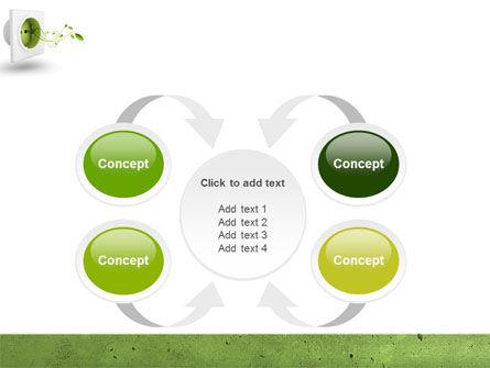 Green Socket PowerPoint Template Slide 6