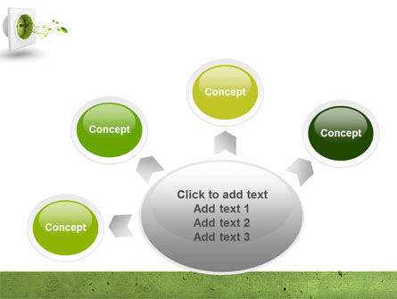 Green Socket PowerPoint Template Slide 7