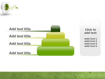 Green Socket PowerPoint Template Slide 8